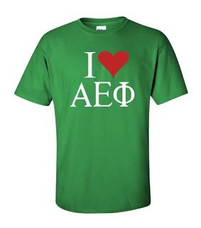 I Love Alpha Epsilon Phi T-Shirts