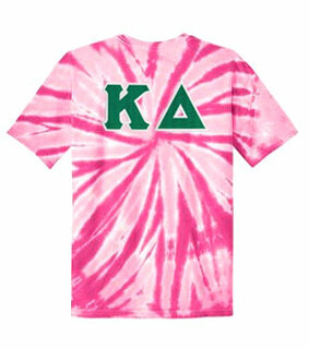 DISCOUNT-Kappa Delta Lettered Tie-Dye t-shirts for only $30!