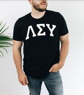 Lambda Sigma Upsilon Arched T-Shirt