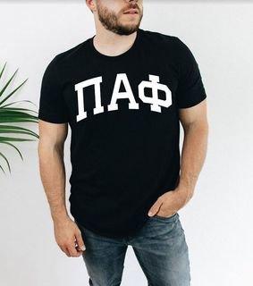 Pi Alpha Phi Arched T-Shirt