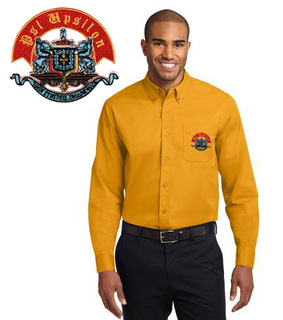 DISCOUNT-Psi Upsilon Long Sleeve Oxford
