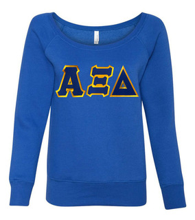DISCOUNT-Alpha Xi Delta Fleece Wideneck Sweatshirt