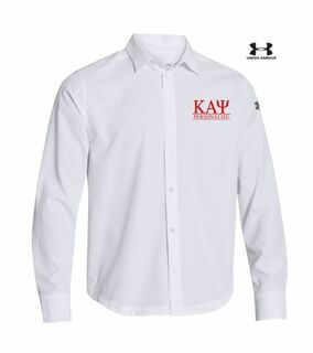 Kappa Alpha Psi Under Armour�  Men's Ultimate Fraternity Long Sleeve Buttondown