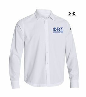 Phi Beta Sigma Under Armour�  Men's Ultimate Fraternity Long Sleeve Buttondown