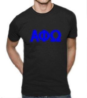 Alpha Phi Omega Lettered Shirt