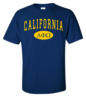 Alpha Phi Omega State Shirt