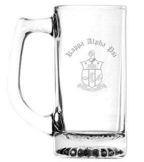 Kappa Alpha Psi Glass Mug - Rush Production