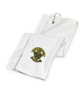 DISCOUNT-Kappa Delta Phi Crest - Shield Golf Towel