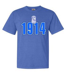 Phi Beta Sigma Comfort Colors Heavyweight Established T-Shirt