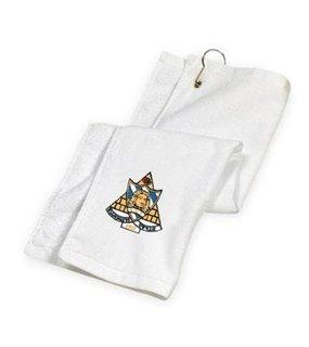 DISCOUNT-Phi Sigma Sigma Golf Towel