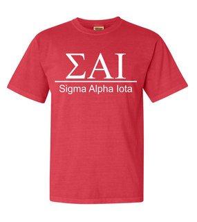 Sigma Alpha Iota Comfort Colors Heavyweight T-Shirt