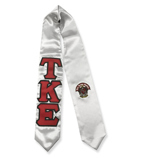 Twill Lettered Greek Graduation Sash