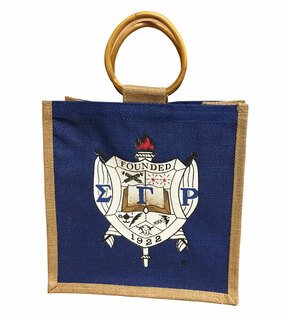 Sigma Gamma Rho Jute Bag