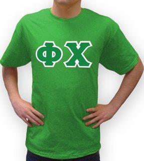 Phi Chi Lettered T-Shirt