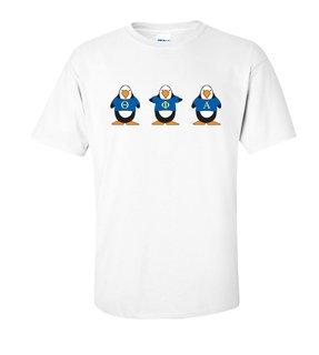 Theta Phi Alpha Penguin Shirt