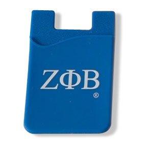 Zeta Phi Beta Silicone Card Holders