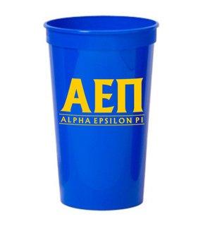 CLOSEOUT - Alpha Epsilon Pi  Big Classic Line Stadium Cup 10 FOR $10!