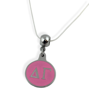 Delta Gamma Drop Necklace