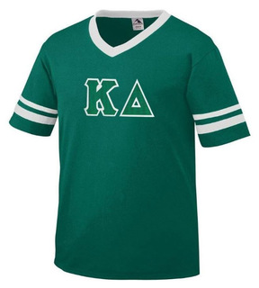DISCOUNT-Kappa Delta Jersey With Greek Applique Letters