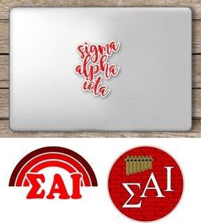 Sigma Alpha Iota Sorority Sticker Collection - SAVE!