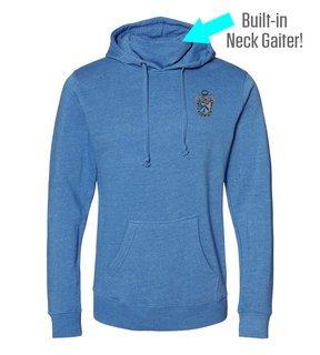 Sigma Tau Gamma Crest Gaiter Fleece Hooded Sweatshirt