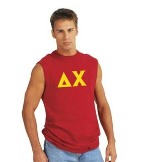 Fraternity Sleeveless Letter Shirt
