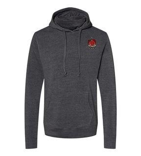 Tau Kappa Epsilon Crest Gaiter Fleece Hooded Sweatshirt