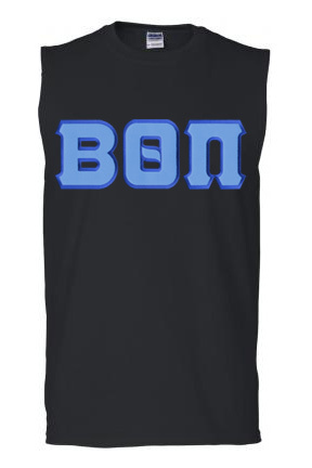 DISCOUNT- Beta Theta Pi Lettered Sleeveless Tee