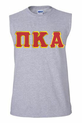 DISCOUNT- Pi Kappa Alpha Lettered Sleeveless Tee