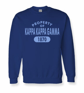Property of Est. Greek Crewneck