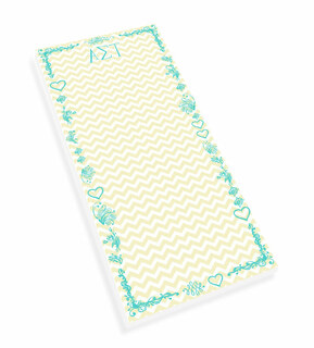 Alpha Sigma Tau Chevron Long Notepad