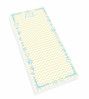 Alpha Xi Delta Chevron Long Notepad