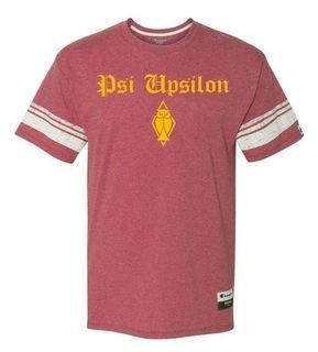 Psi Upsilon Champion - Triblend Varsity Tee