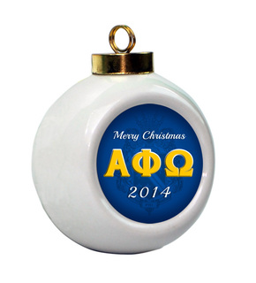 Alpha Phi Omega Holiday Ball Ornament
