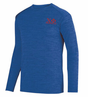 Chi Phi- $20 World Famous Dry Fit Tonal Long Sleeve Tee