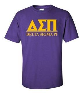 Delta Sigma Pi Bar Shirt