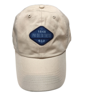 DISCOUNT-Fraternity Woven Emblem Hat
