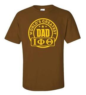 Iota Phi Theta World's Greatest Father T-Shirt