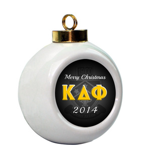 Kappa Delta Phi Holiday Ball Ornament