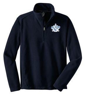 Lambda Sigma Upsilon Emblem 1/4 Zip Pullover