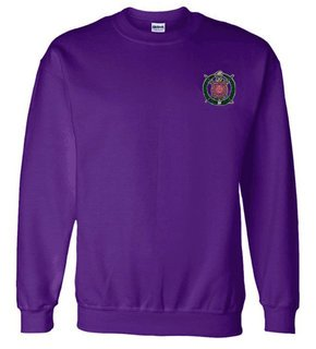 DISCOUNT-Omega Psi Phi World Famous Crest - Shield Crewneck Sweatshirt