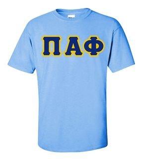 Pi Alpha Phi Lettered T-Shirt