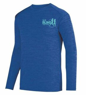She Runs This Town- $20 World Famous Dry Fit Tonal Long Sleeve Tee
