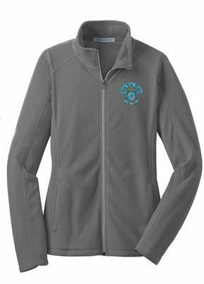 New Sorority Crest - Shield Patch Ladies Microfleece Jacket