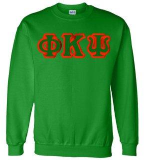 Phi Kappa Psi Custom Twill Crewneck Sweatshirt