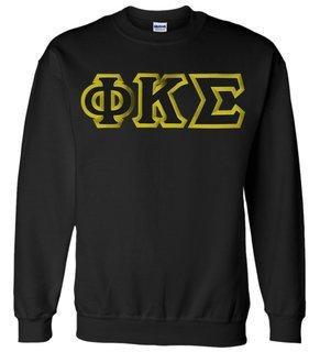 Phi Kappa Sigma Custom Twill Crewneck Sweatshirt