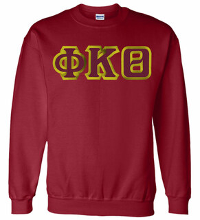 Phi Kappa Theta Custom Twill Crewneck Sweatshirt