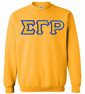 $25 Sigma Gamma Rho Custom Twill Sweatshirt