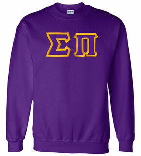 Sigma Pi Custom Twill Crewneck Sweatshirt