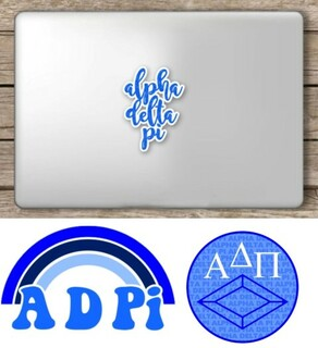 Alpha Delta Pi Sorority Sticker Collection - SAVE!